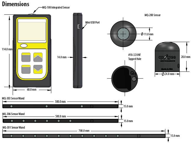 手持光量子仪MQ-100/MQ-200/MQ-306