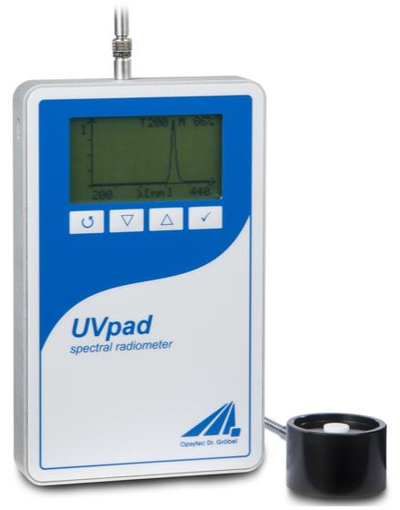 UVpad E手持式紫外光谱辐射仪 德国opsytec
