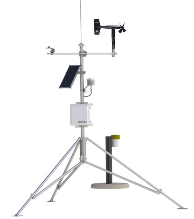 Campbell H-AWS1000X 高寒气象监测站