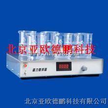 六工位数显磁力搅拌器/六工位磁力搅拌器/磁力搅拌器 型号:DP-1A