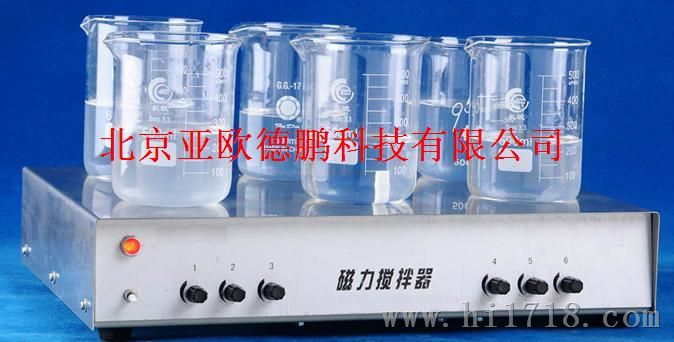 六工位磁力搅拌器