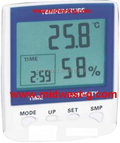 中西便攜式溫濕度計型号:SZCD-362311(優勢)現貨