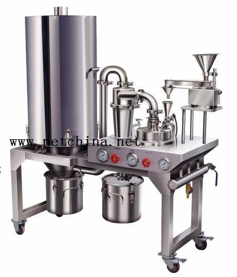 小型气流粉碎机(实验室专用) 型号:SS99-YQ100-1