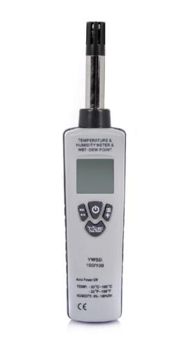 矿用本安型温湿度检测仪 型号:YWSD100/100 库号:M381694