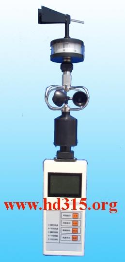 风杯式风向风速表/便携式风向风速仪/手持式风向风速仪/风杯式轻风表/三杯式风向风速表现货中