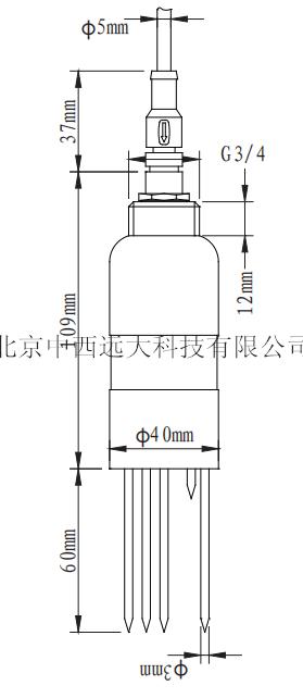 土壤水分传感器 中西器材