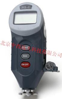数显邵氏硬度计/数显微孔材料硬度计/C型数显硬度计(中西器材)不含测试架子YLP06/ZX-C
