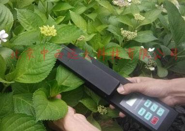 活体叶面积测量仪/叶面积测量仪不含GPS定位模块(野外工作的便携式仪器,无计算机接口,可在主机上存储数据并查看) )(中西器材)MC12/ZXYM-A