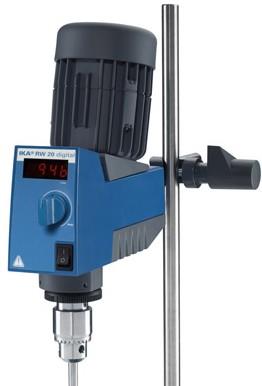 顶置式机械搅拌器(德国IKA)数显型 套装SRH15/RW20