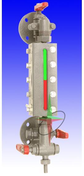 雙色水位計SX933-B49X-2.5-440MM