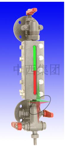 雙色水位計600MM(中西器材)SX-B49X2.5-600