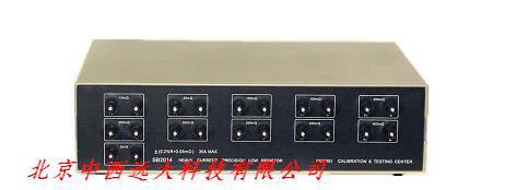 精密大电流低阻箱JD09-SB2014