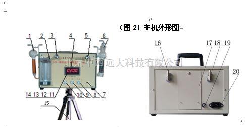 大气采样器GS-3B 型号:UH788-GS-IIIB