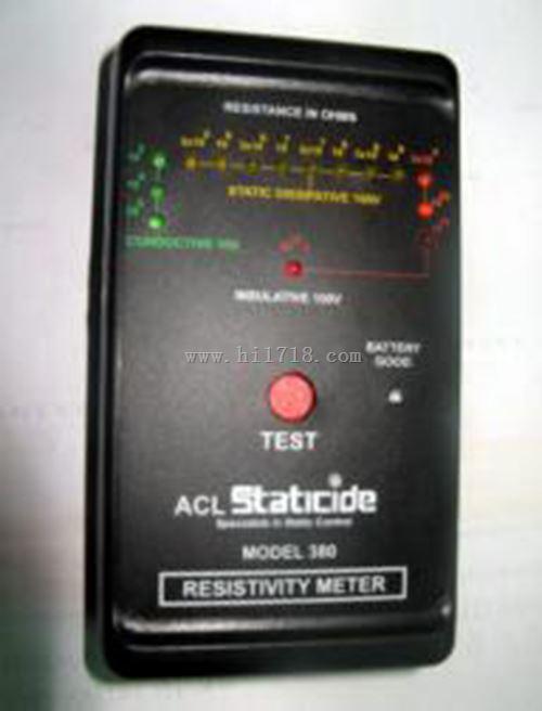 美国表面电阻测试仪 型号:AC05-ACL-380