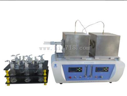 硫磺中有机物测定仪 双管 型号:HC999-HCR1700A