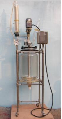 玻璃反应釜型号:CC48-100L