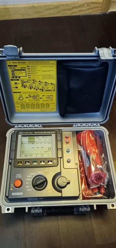 高压绝缘电阻测试仪KL14-Kyoritsu