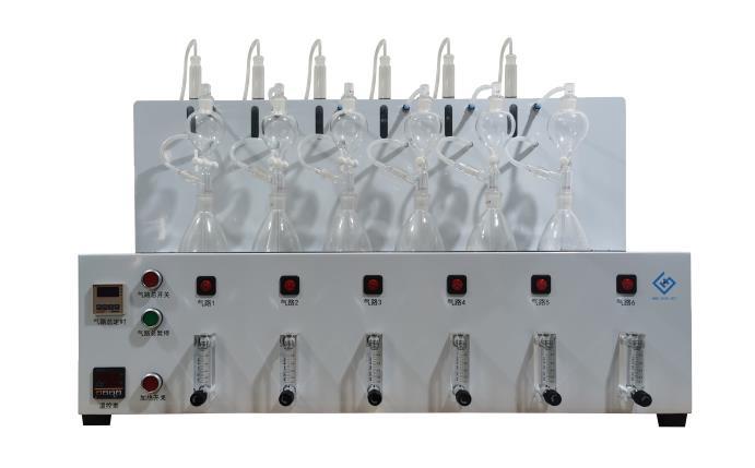 水质硫化物酸化吹气仪 型号:TH10-600S