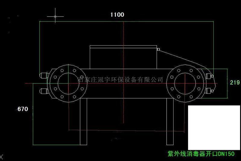 根据紫外线消毒器设备的标牌上的电压,功率选择电源插座,导线或接线板