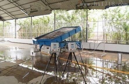 地表表层水流流速测量系统