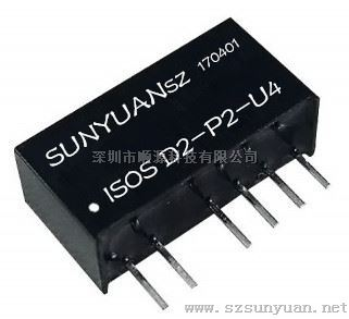 pwm脉宽信号da转换高精度微型隔离变送器ic