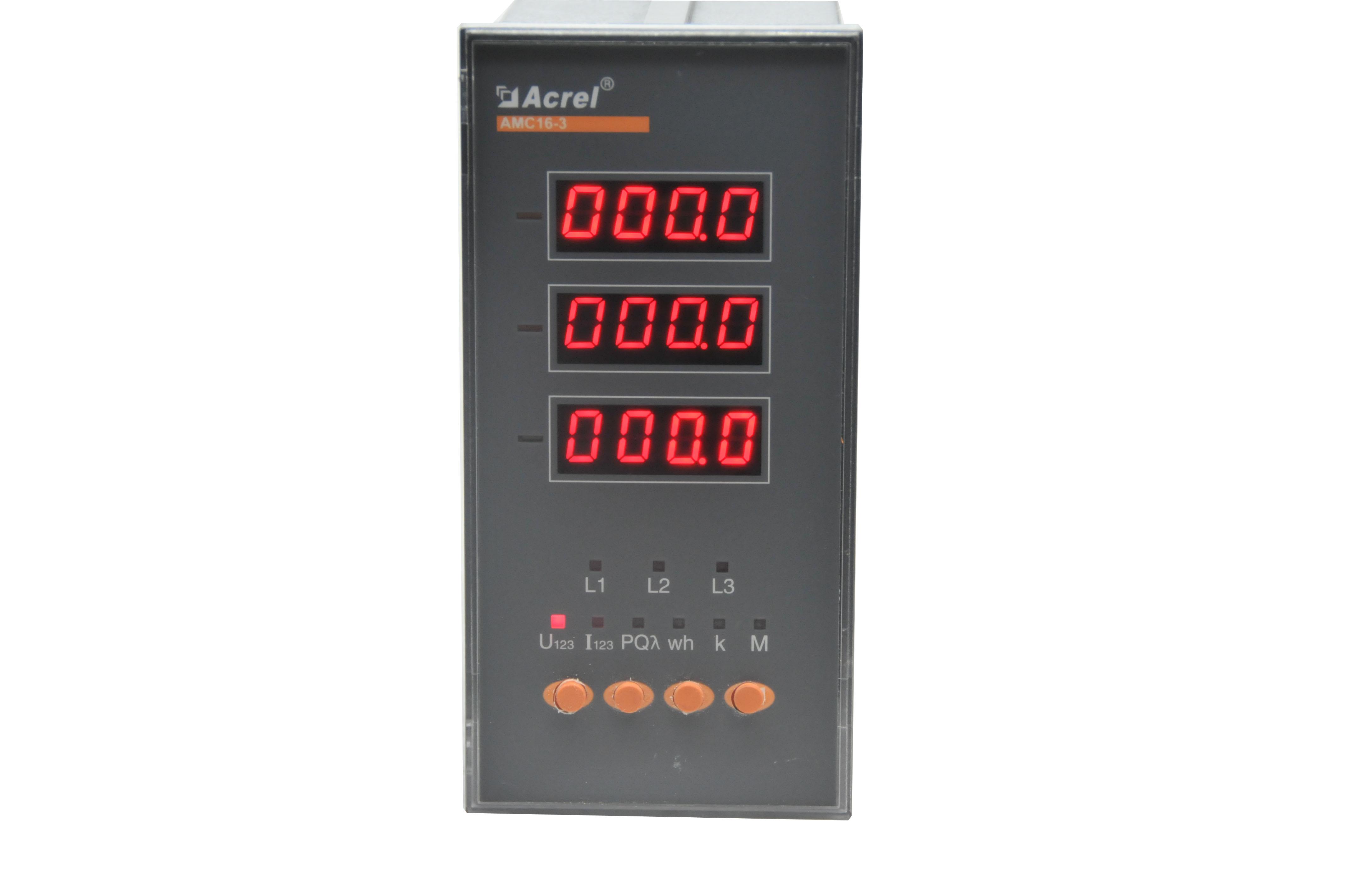 百家樂網頁遊戲AMC16-1I6/K多回路電流監控裝置,12路開關量輸入,1路輸出