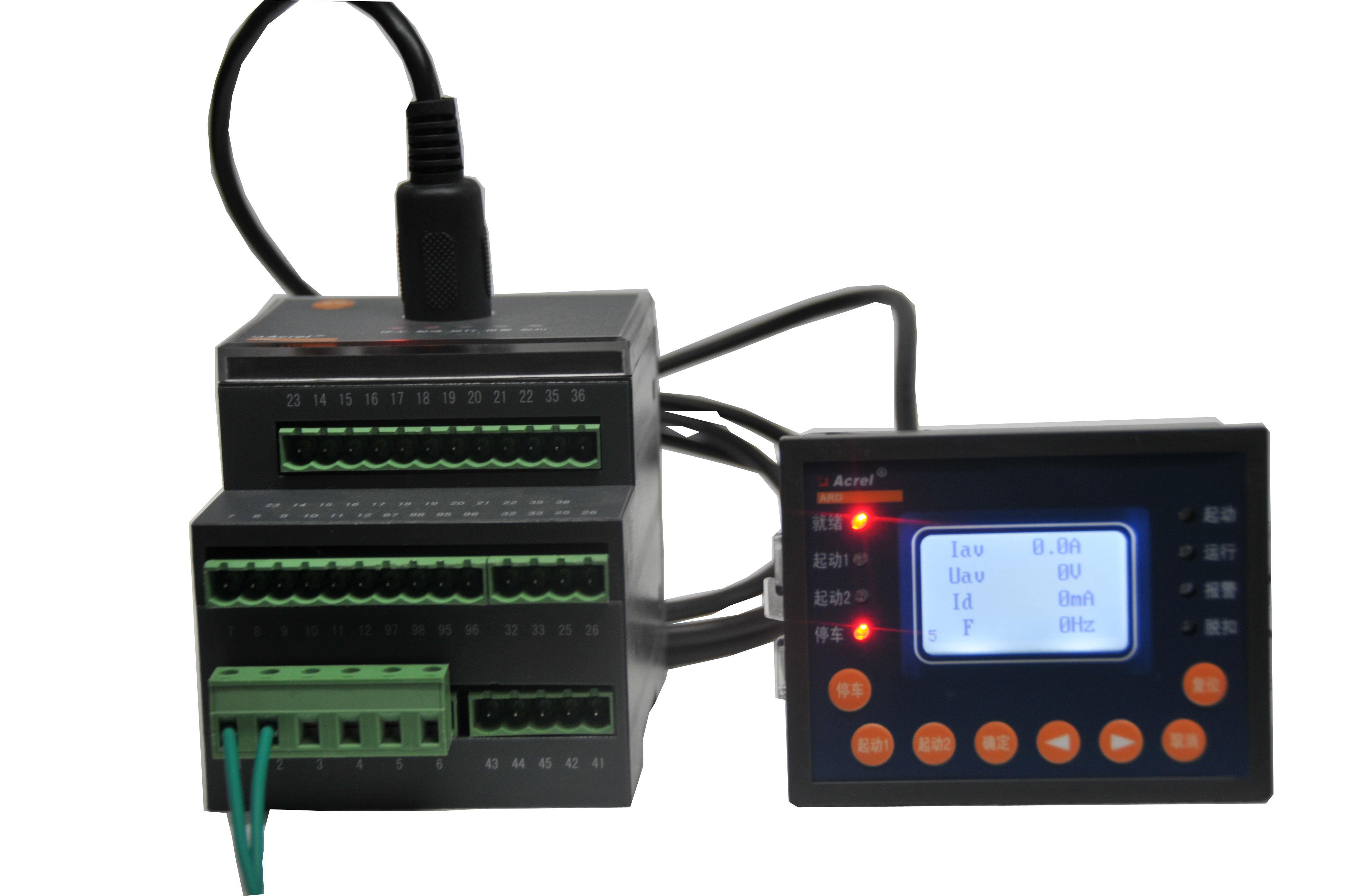 百家樂網頁遊戲ARD2F-6.3/K缺相保護導軌式電動機保護器