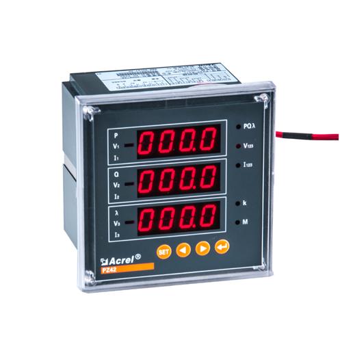百家樂網頁遊戲PZ42-E4/DP 多功能電力儀表 Profibus-DP協議 網絡電表