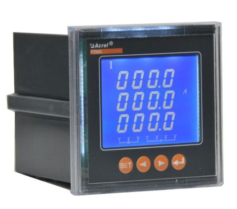 百家樂網頁遊戲PZ80L-AI3 三相電流表,LCD顯示
