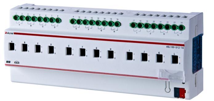 百家樂網頁遊戲ASL100-S8/16智能照明控製開關驅動器