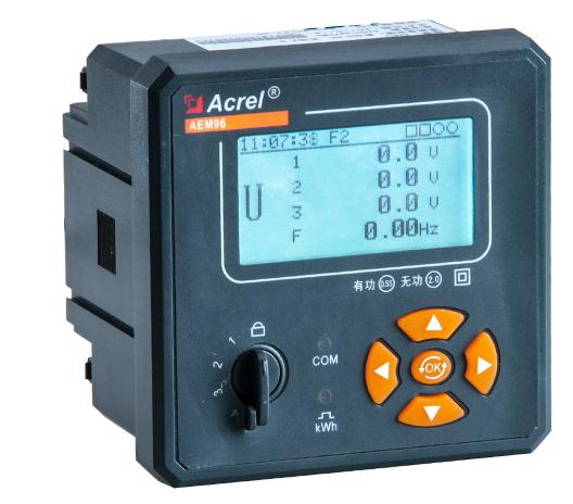 百家樂網頁遊戲嵌入式AEM96 RS485 諧波測量