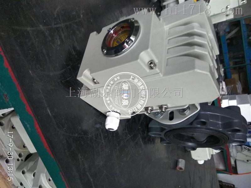 上海聚氯乙烯电动蝶阀厂家