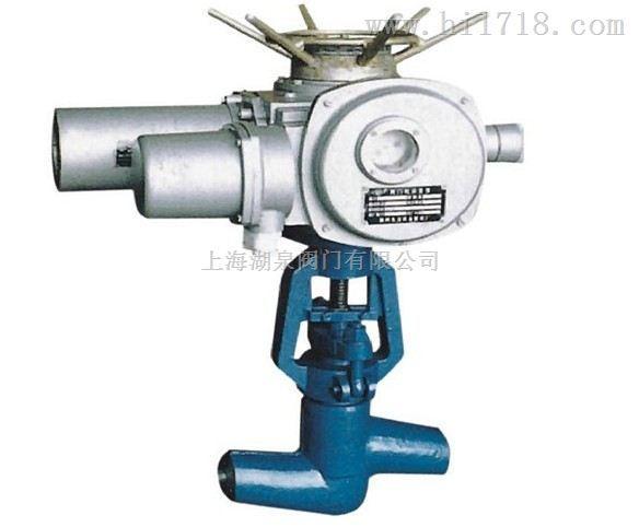 高压电动焊接截止阀