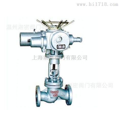 J941Y上海湖泉100I电动法兰截止阀