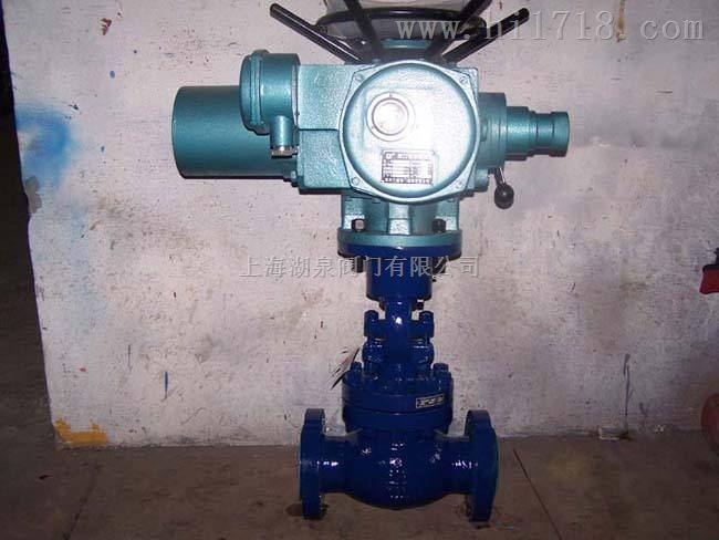 上海湖泉Z941Y高压铬钼钢电动闸阀
