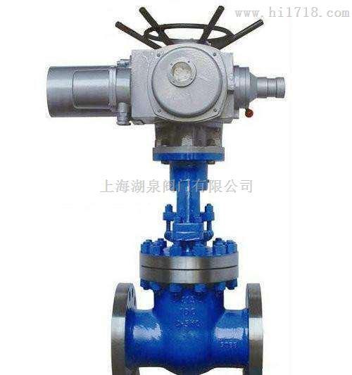 Z941Y上海湖泉64I电动法兰闸阀
