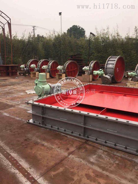 D941W上海湖泉电动不锈钢通风蝶阀