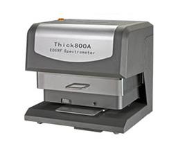 Thick800A电镀镀层重金属测厚仪及电镀液和镀层含量的测试,天瑞仪器生产制造