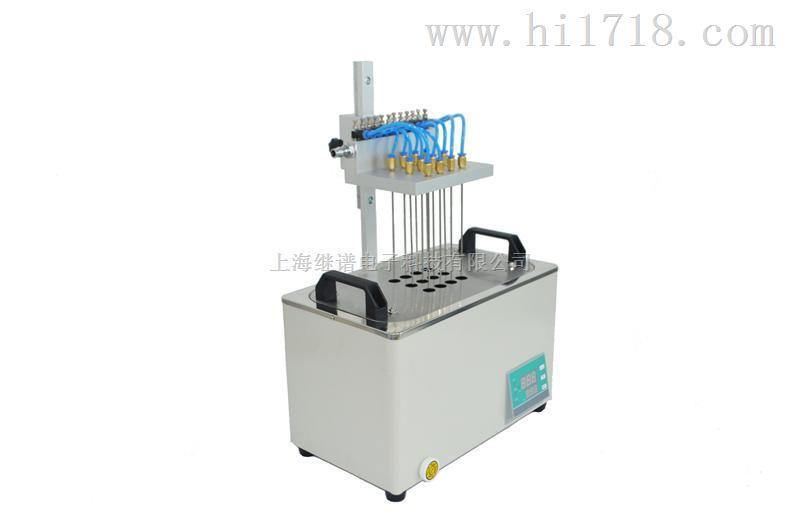 水浴氮氣吹掃儀-12孔GIPP-DCY-12S,經銷批發制造商水浴氮氣吹掃儀-12孔GIPP繼譜