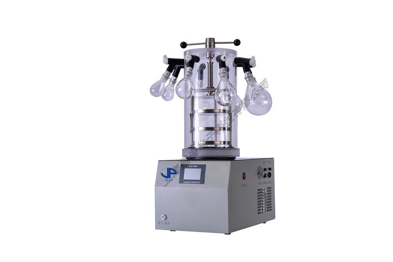 真空冷凍干燥機(FD-1D-50壓蓋掛瓶型,冷凝溫度-50