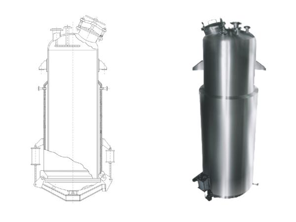 直筒型提取罐TQ-0.5