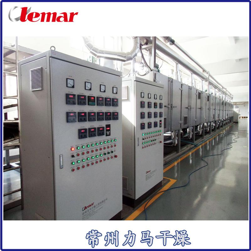 10t/h鮮木薯片網帶式干燥機DW3-1.2-8