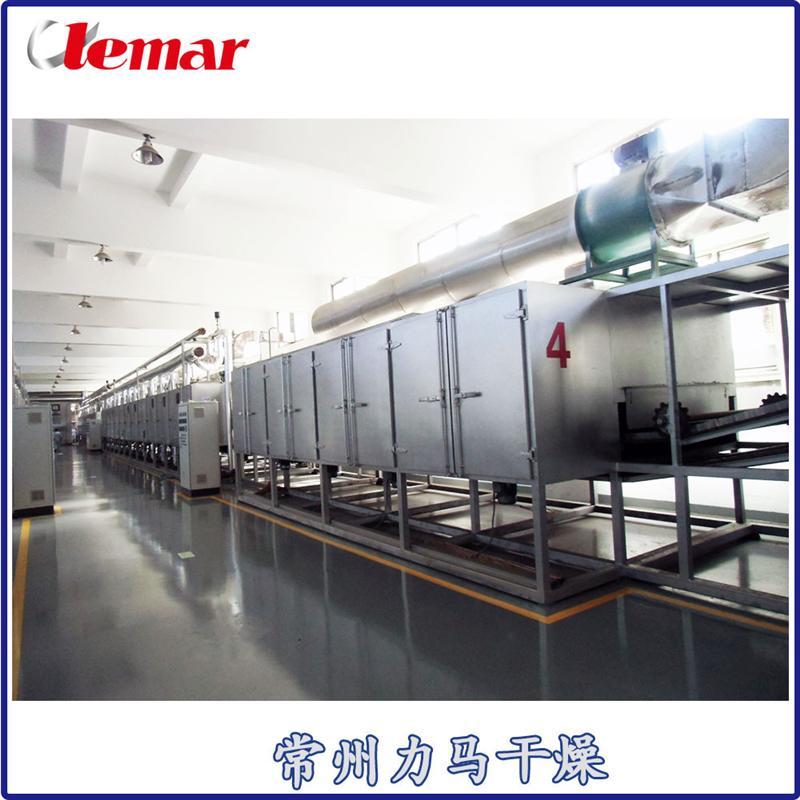 新霉素菌渣帶式干燥機DW7-2X12