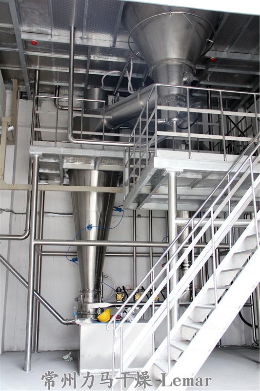 750kg/h濃縮奶壓力噴霧干燥機、振動流化床干燥機