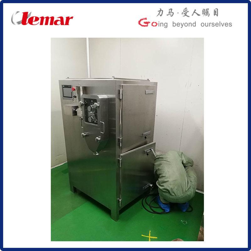 20-80目顆粒大于120kg/h干法制粒機
