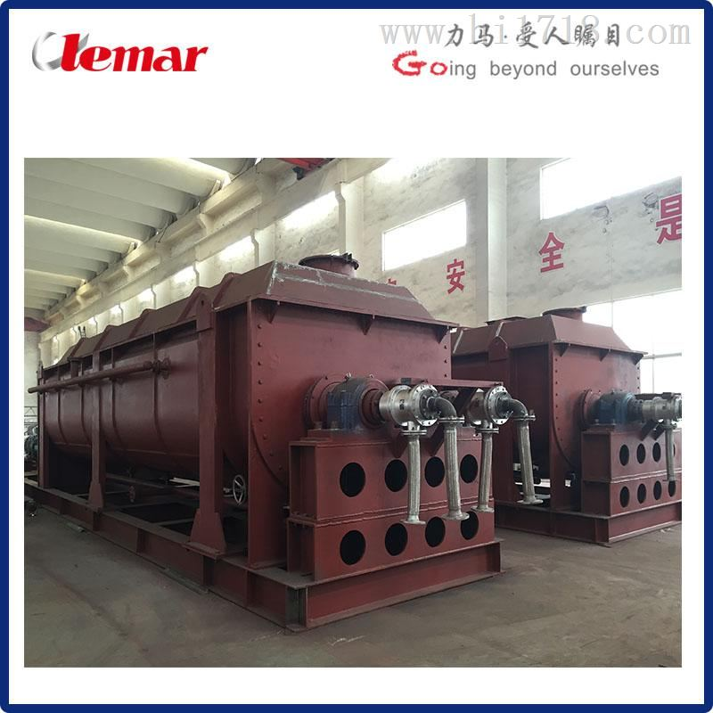 印染污泥 污水厂污泥浆叶干燥机