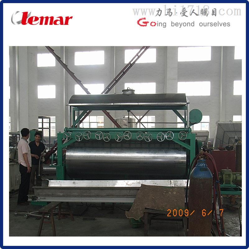 连续真空刮板干燥机1.6吨/小时