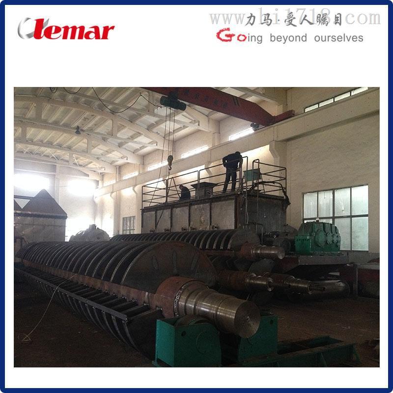 导热油桨式污泥干化机组KJG-200