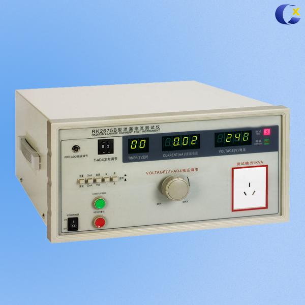 CX-2675B 泄漏电流测试仪