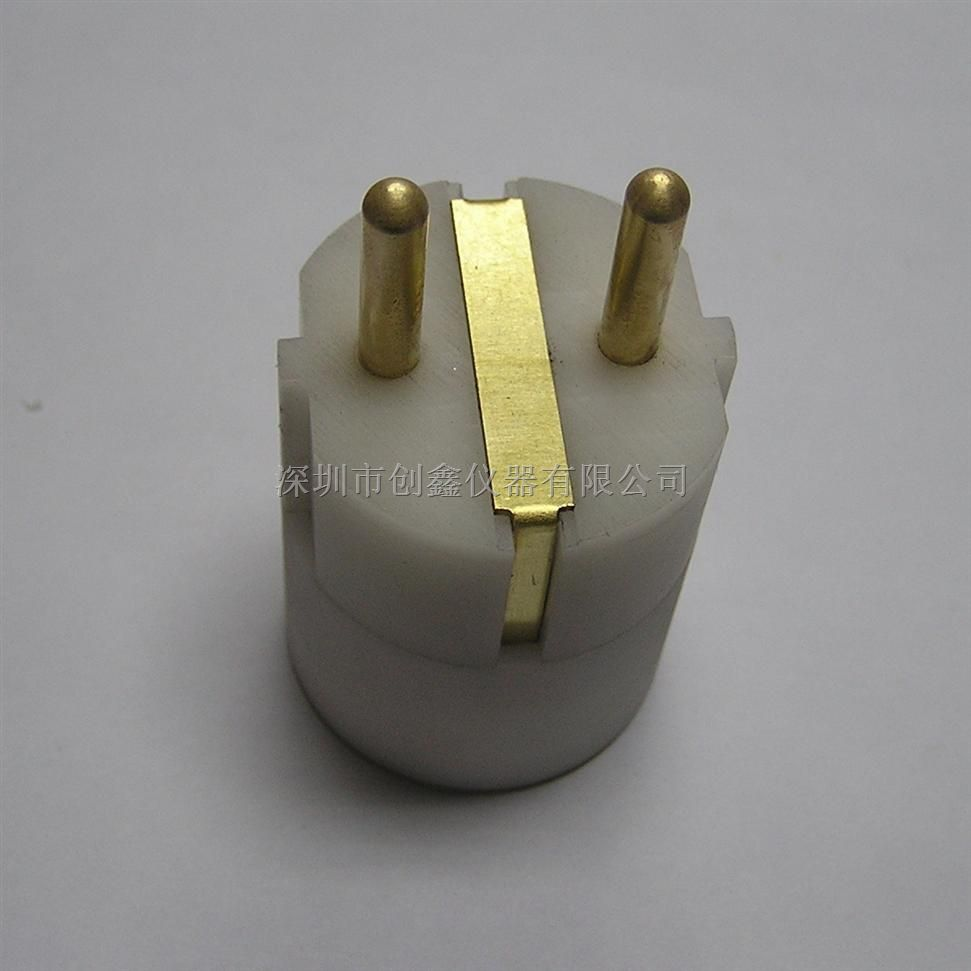 DIN-VDE0620-1-Bild16d温升插头量规2.5A